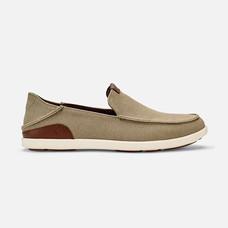 Olukai รองเท้าผู้ชาย 10382-1033 M-MANOASLIP-ON CLAY/TOFFEE 7 US