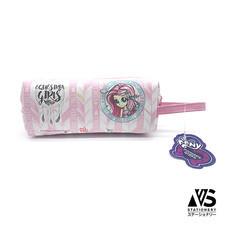 V.S Stationery กระเป๋าใส่เครื่องเขียนอเนกประสงค์ Pony สีชมพู