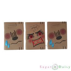 Sugar Daisy สมุดโน๊ตมุงหลังคา Emotion Me คละลาย (แพ็ก 3 เล่ม)