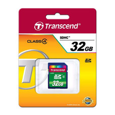 TRANSCEND SD CARD SDHC Class 4 (Standard) 32GB