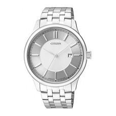CITIZEN นาฬิกาข้อมือผู้ชาย สายสเตนเลส รุ่น BI1050-56A