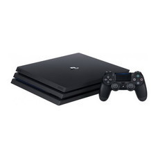 Playstation 4 PRO 1TB HDD CUH-7106B (JET BLACK) Sony Thai