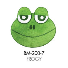WSP พรมอะครีลิก Funny Mat (55 x 55 ซม.) BM-200-7/Frogy