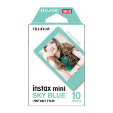 Fujifilm ฟิล์ม Instax Mini Film รุ่น Solid Colour Blue