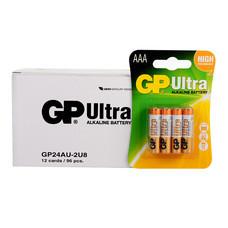 GP Ultra ถ่านอัลคาไลน์ AAA (1กล่อง/12แพ็ก/96ก้อน)