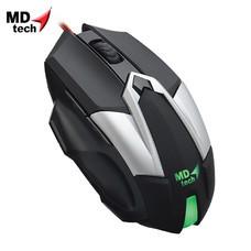 MD-TECH Optical Mouse USB BC-99 Black/Silver