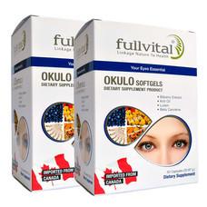 Fullvital Okulo ฟูลไวทอล โอคูโร่ จำนวน 2 กล่อง (30 แคปซูล/กล่อง)
