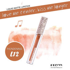 Melynn Love Me Tender, Kiss Me Longer Liquid Matte Lipstick L12 Thundering