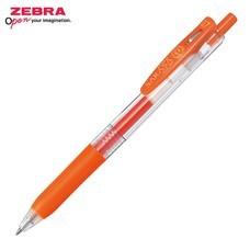Zebra ปากกาหมึกเจล Sarasa Clip 0.7 มม. JJB15-ROR หมึกสีแดง-ส้ม (12 ด้าม/กล่อง)