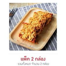ขนมปังกรอบน้ำพริกเผาหมูหยอง (แพ็ค 2)