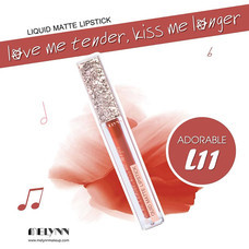 Melynn Love Me Tender, Kiss Me Longer Liquid Matte Lipstick L11 Adorable