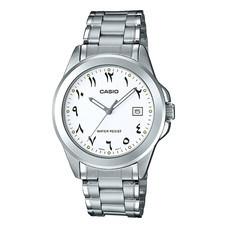 Casio นาฬิกาข้อมือ รุ่น MTP-1215A-7B3DF Silver
