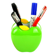 Deli ที่ใส่ปากกา ทรงแอปเปิ้ล คละสี 1 ชิ้น