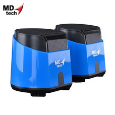 MD-TECH Speaker USB 2.0 SP-15 Blue