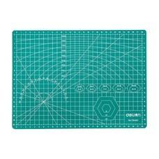 Deli 78400 แผ่นรองตัดกระดาษ สีเขียว A4 (300x220 มม.)