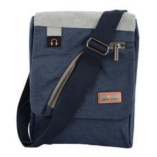 Pierre cardin กระเป๋าสะพายสีกรมท่า รุ่น PS4-SIM2046 BL