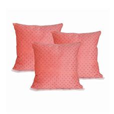 Midori หมอนอิง Pink mega Dot แพ็กคู่ 2 ฟรี 1 ใบ