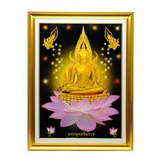 เยี่ยมศิลป์ กรอบรูปสำเร็จภาพโปสเตอร์ พระพุทธชินราช YS-0005
