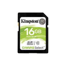 Kingston เมมโมรี่การ์ด Canvas Select 16GB