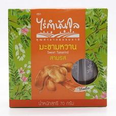 ไร่กำนันจุล มะขามอบไร้เมล็ด รส 3 รส 70 ก. (แพ็ค 2)