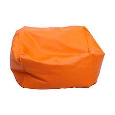 Your Style บีนแบ็กทรงสตูหนังเทียม ส้ม