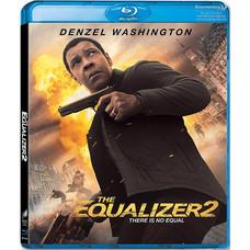 Blu-ray The Equalizer 2 มัจจุราชไร้เงา 2