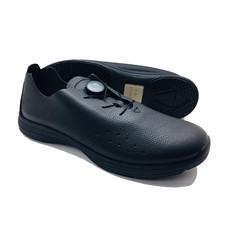 Talon รองเท้าคัชชูเพื่อสุขภาพเท้า รุ่น BUSAN สีดำ-พื้นรองเท้าสีดำ ไซส์ 44