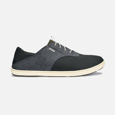 Olukai รองเท้าผู้ชาย 10283-6C6C M-NOHEA MOKU DARK SHADOW/DARK SHADOW 7 US