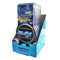 Mentos น้ำหอมช่องแอร์เหลี่ยม แบบแพ็ก (6 ชิ้น/1 แพ็ก)