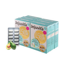 Jejuvita L-Car Kar (แอลคาร์คาร์) อาหารเสริมช่วยเผาพลาญ เซ็ท 6 กล่อง