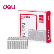 Deli 0017 Staples ลวดเย็บกระดาษ 120 แผ่น เบอร์ 23/17 เย็บได้ 1,000 ครั้ง