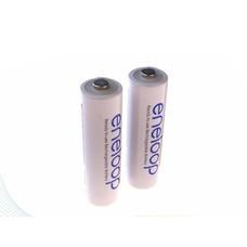 eneloop Rechargeable Battery ถ่านชาร์จ AA - White (2 ก้อน/แพ็ก) รุ่น BK-3MCCE/2NT
