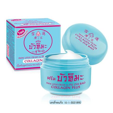 Snow Lotus Cream by FU ZHI BAO Collagen Plus 15 ก.