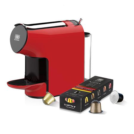 Duchess เครื่องชงกาแฟระบบแคปซูล รุ่น CM6300R พร้อมกาแฟแคปซูล 10 แคปซูล (คละรส) สีแดง