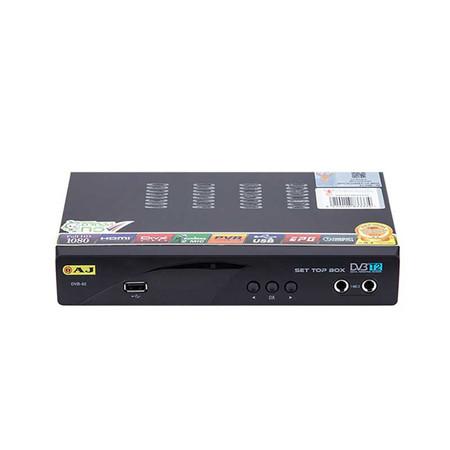 AJ กล่องรับสัญญาณดิจิตอลทีวี รุ่น DVB-92