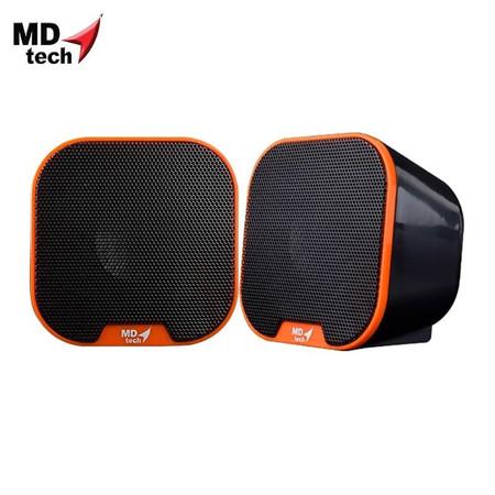 MD-TECH Speaker USB 2.0 SP-13 Orange/Black