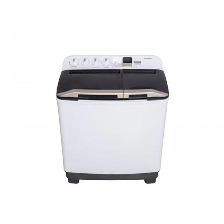 TOSHIBA เครื่องซักผ้าถังคู่ฝาบน 13 กิโลกรัม รุ่น VH-H140WT