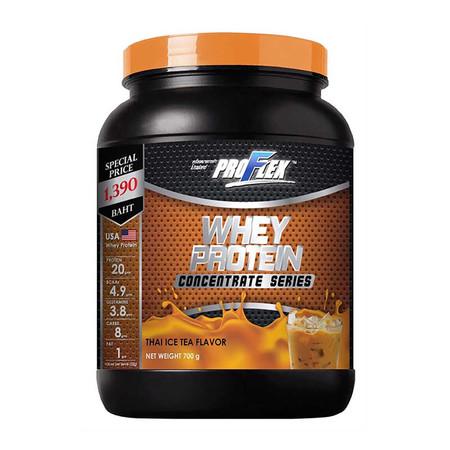 ProFlex Concentrate Thai Tea Whey Protein Thai Tea flavour จำนวน 700 ก.