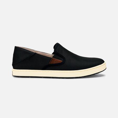 Olukai รองเท้าผู้ชาย 10365-4018 M-KAHU BLACK/OFF WHITE 9 US