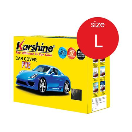 KARSHINE Car Cover PVC ผ้าคลุมรถ Size L
