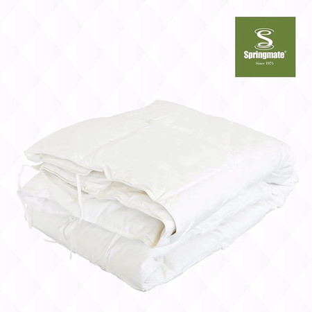 Springmate White Duck Down Duvet Size 70 x 90 นิ้ว