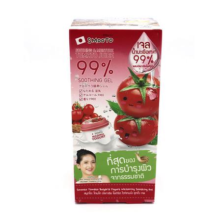 Smooto Tomato Bulgaria Yogurt Whitening Soothing Gel 40 ก. 6 ซอง