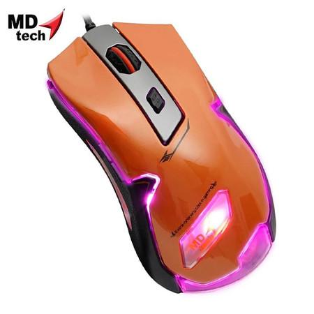 MD-TECH Optical Mouse USB KM-01 Orange