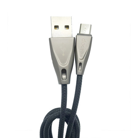 Eloop Charger Cable Micro USB S12 Black