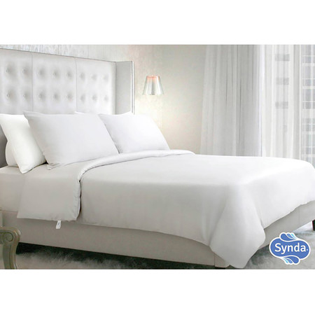 Synda ผ้าปูรัดมุม MAGIC WHITE Size 5 ฟุต