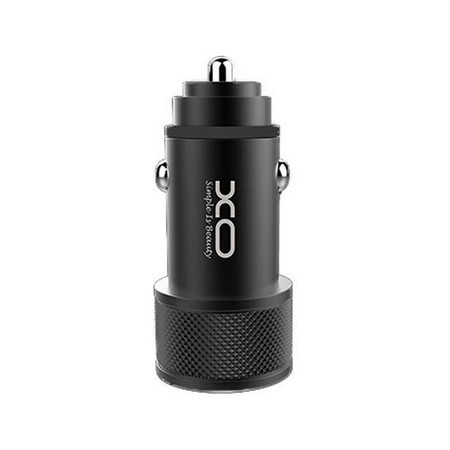 XO Car Charger Double USB CC-02 Black