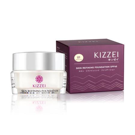 Kizzei Skin Refining Treatment foundation 01 5 ก.