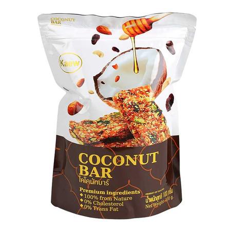 โคโคนัทบาร์ (แผ่นธัญญพืชกรอบ) 100 g.