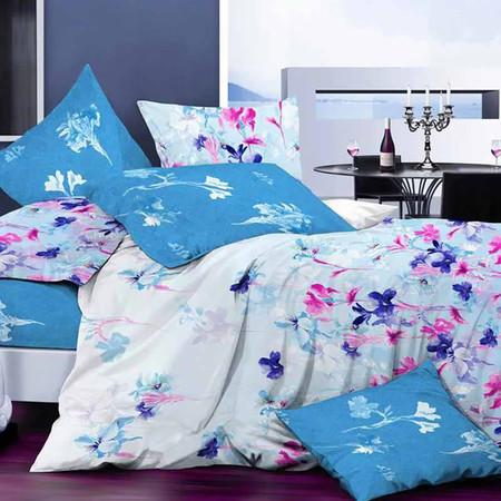 MD Home ชุดผ้าปูที่นอน 6 ฟุต 5 ชิ้น รุ่น Micro SofTex ลาย Dream Gerden