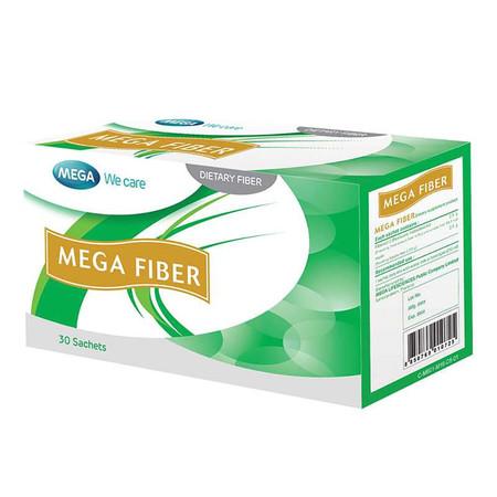 Mega We Care MEGA FIBER ไฟเบอร์ที่เป็นพรีไบโอติก บรรจุ 30 ซอง